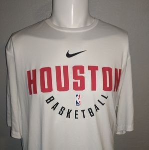 Nike Houston Basketball XXL Shirt Excellent Cond